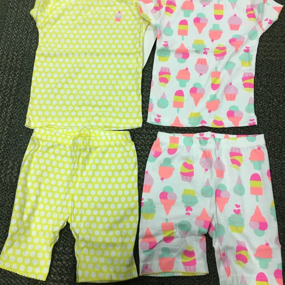 Carter/'s Sleeper Footed Pajamas Fleece Polka Dot  NWT Ice Skater Skating Pink
